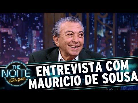 Entrevista com Mauricio de Sousa | The Noite (10/07/17)