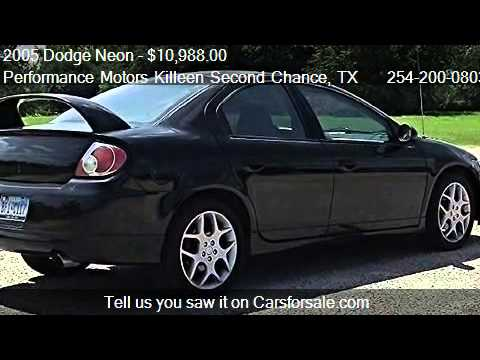 2005 dodge neon srt 4 for sale in killeen tx 76543