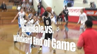Lawndale vs. Windward, UA Holiday Classic, End of Game, 12/29/14