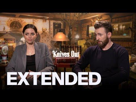Chris Evans, Ana De Armas On 'Knives Out' Ensemble | EXTENDED