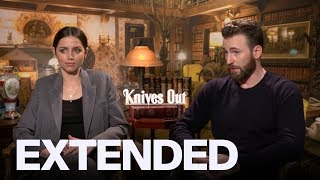 Chris Evans, Ana De Armas On 'Knives Out' Ensemble | EXTENDED