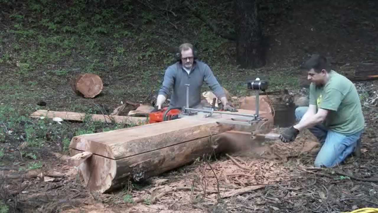 Building a Treehouse Ep 2 - Milling Your Own Lumber