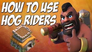 Clash of Clans: Hog Rider Attack Strategy TH8 - 3 Star Tutorial