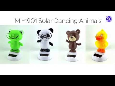 MI-1901 Solar Dancing Animals