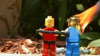 lego burning man