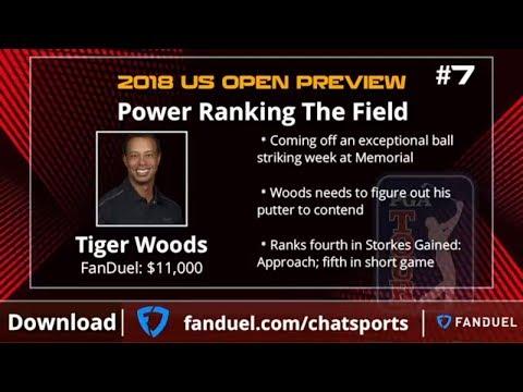 2018 US Open Picks: Tiger Woods, Dustin Johnson, & Phil Mickelson