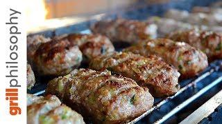 ΜΠΙΦΤΕΚΙΑ ΧΟΙΡΙΝΑ ΜΕ ΠΡΑΣΟ (Pork burgers with leek)