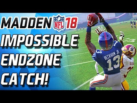 CANT BELIEVE ODELL BECKHAM MADE THIS CATCH! - Madden 18 Ultimate Team