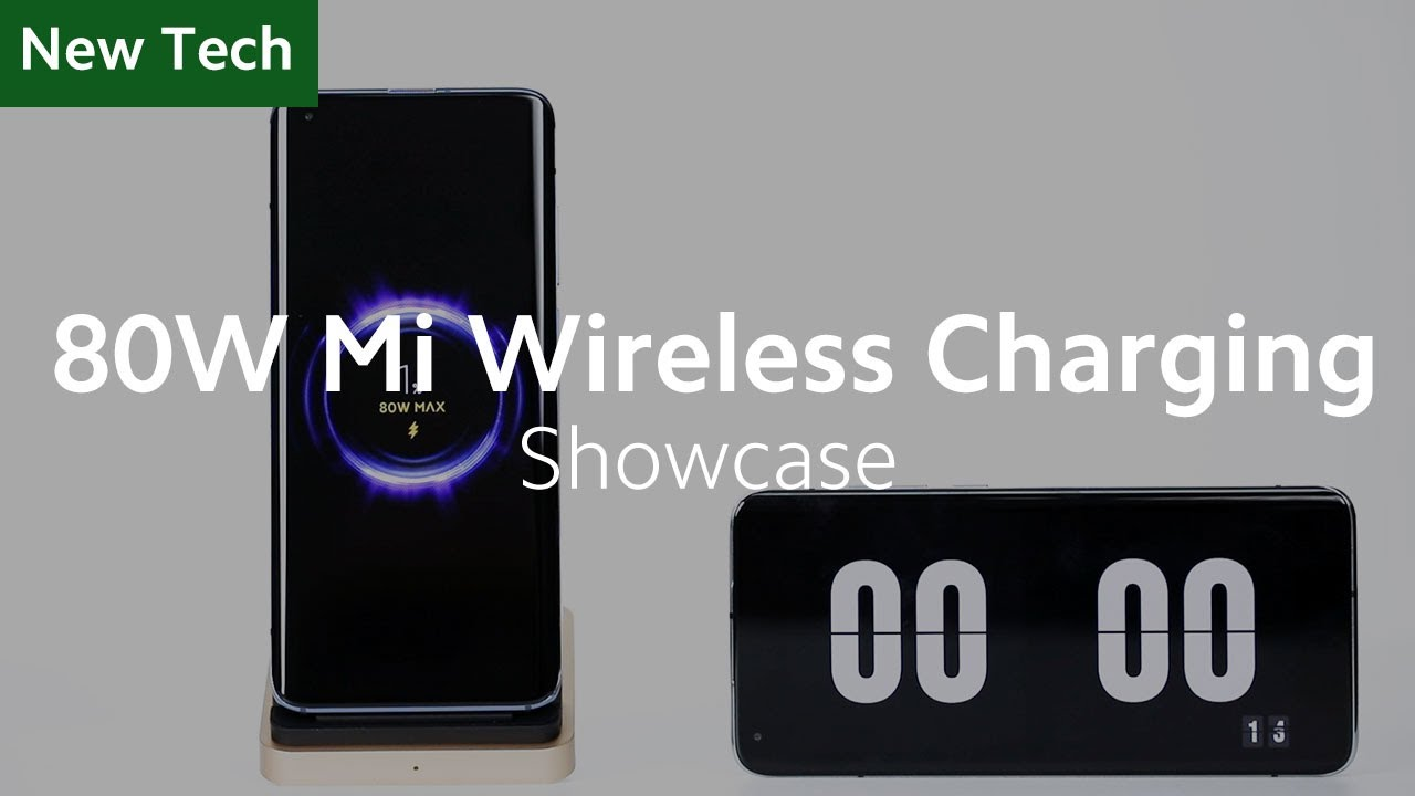 80W Mi Wireless Charging Technology