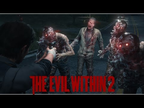 The Evil Within 2 Stealth Takedowns Gameplay PS4 Pro No Commentary