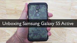 Unboxing Samsung Galaxy S5 Active - Primeras impresiones