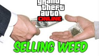 Gta 5 online bikers-Selling weed.
