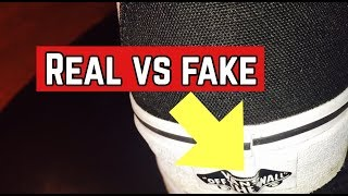 HOW TO SPOT FAKE VANS SHOES   BEFORE YOU BUY VANS SHOES