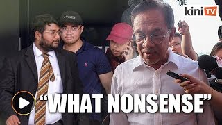 Download Video What nonsense is this? - Anwar tells reporter for linking sex video to PKR factionalism MP3 3GP MP4