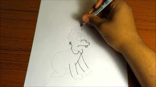 How To Draw Gerald Samson(The Simpsons)