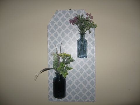 WALL DECOR DIY/HOME DECORATING IDEAS/DIY FARMHOUSE DECOR/DOLLAR TREE/IKEA
