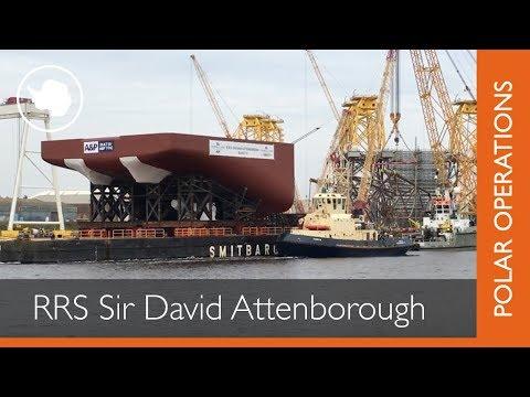 RRS Sir David Attenborough | Section Block 10