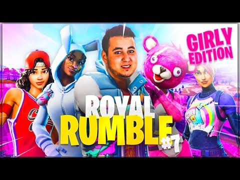 LES STREAMEUSES EN MODE CHOUPI ! ► ROYAL RUMBLE #7