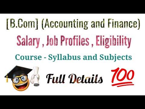B.com (Accounting &