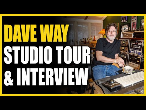 Dave Way Interview & Studio Tour - Warren Huart: Produce Like A Pro