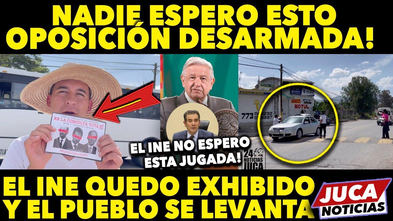 DE ÚLTIMA HORA! EL INE NO LO ESPERABA! MEXICANOS SE LEVANTAN Y VAN POR EXPRESIDENTES! JUSTO AHORA!