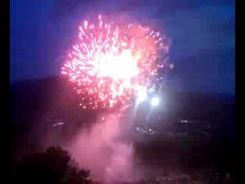 Santa Maria Del Bagno Pesche.Fuochi D Artificio S Maria Del Bagno 08 Pesche Isernia Youtube