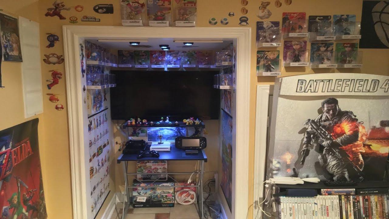 My Nintendo Gaming Closet Setup
