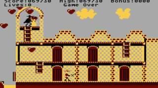 Zorro Playthrough (Atari XL/XE)