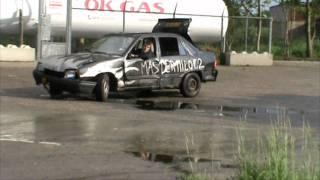 Opel Kadett engine blow & fire thumbnail