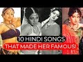 10 HINDI SONGS THAT MADE SRIDEVI FAMOUS! | Sridevi Best Old Songs List Video!