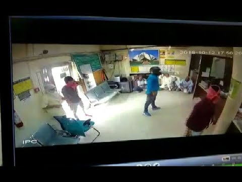 Exclusive CCTV: Ex Air Force personnel shot dead in Delhi bank robbery