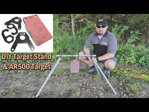 Iron Rock Off Road's Target Stand and AR500 Target