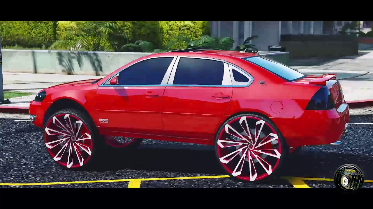 Grand Theft Auto 5 Donk Mod Chevrolet Impala Ss Starr Wheels30s