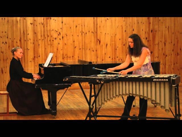 CLAUDE DEBUSSY: CLAIR DE LUNE (vibraphone, glockenspiel +piano)