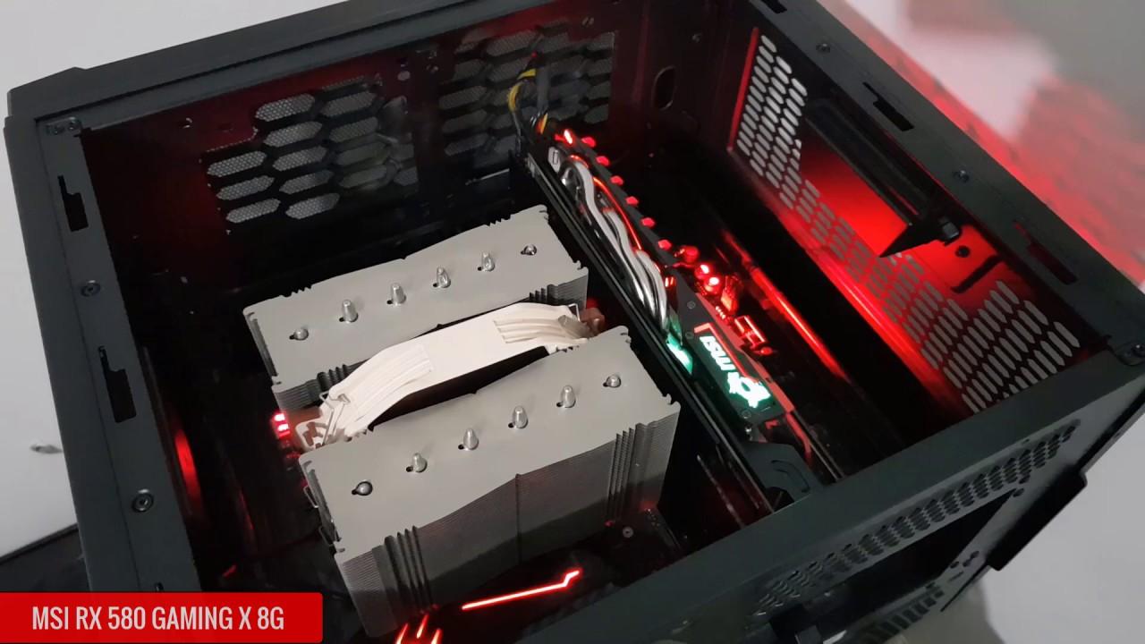 MSI RX 580 Gaming X 8G LED