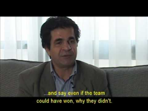 "Jafar Panahi discusses ""Offside"" Pt. 2 - Soccer Match Selection"