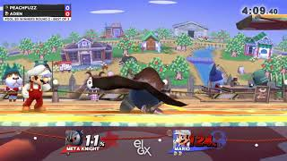 Aden vs Peachfuzz - EGLX 2018 - Wii U Pools