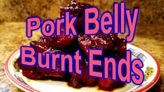 Pork Belly Burnt Ends | Smoked Pork Belly Burnt Ends by Pigskin Barbeque