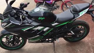Kawasaki Ninja 300  Heavy Bike Full Video || Replica || HD