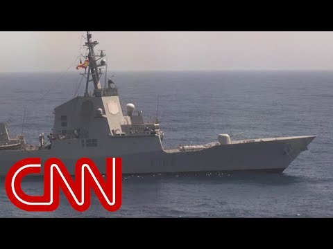 US warships send a powerful message to Russia