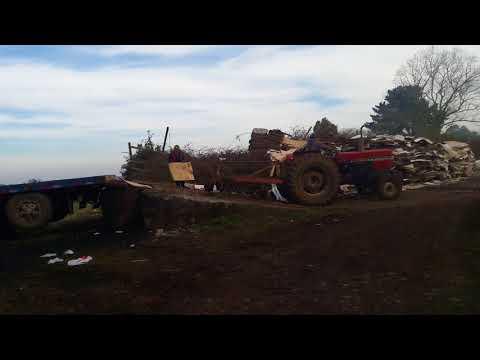 Subiendo tractor al volvo f1020