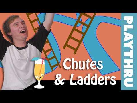 Chutes and Ladders - Drinking Play Through