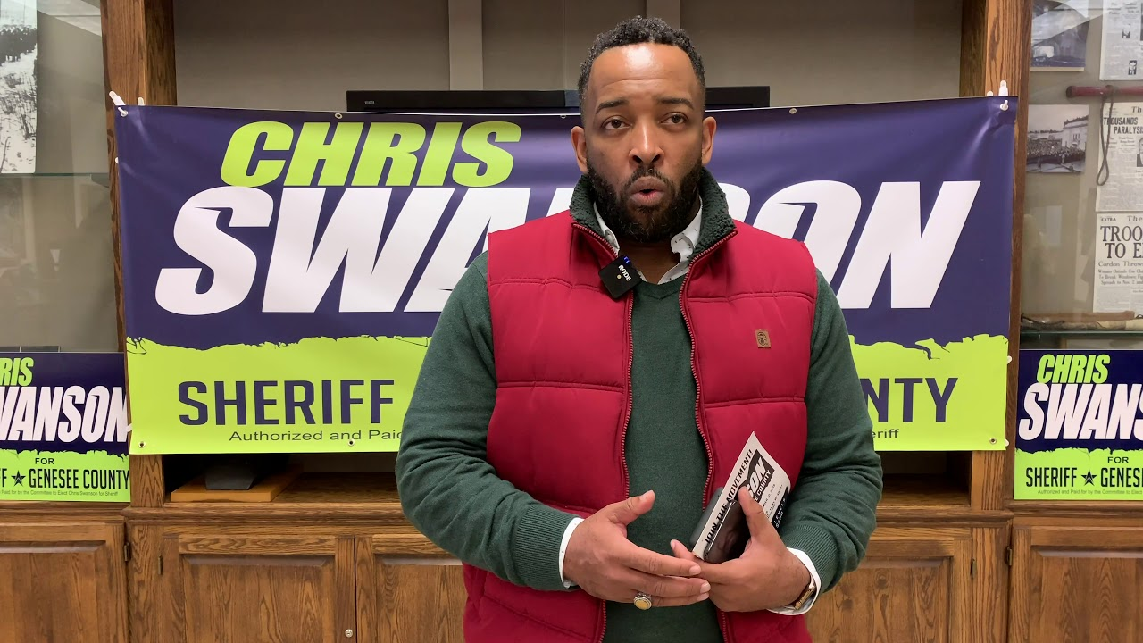 Thank you for the endorsement: SwansonForSheriff.com