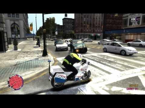 GTA IV Zaragoza Edition: patrullando con unidad motos policia local [HD]