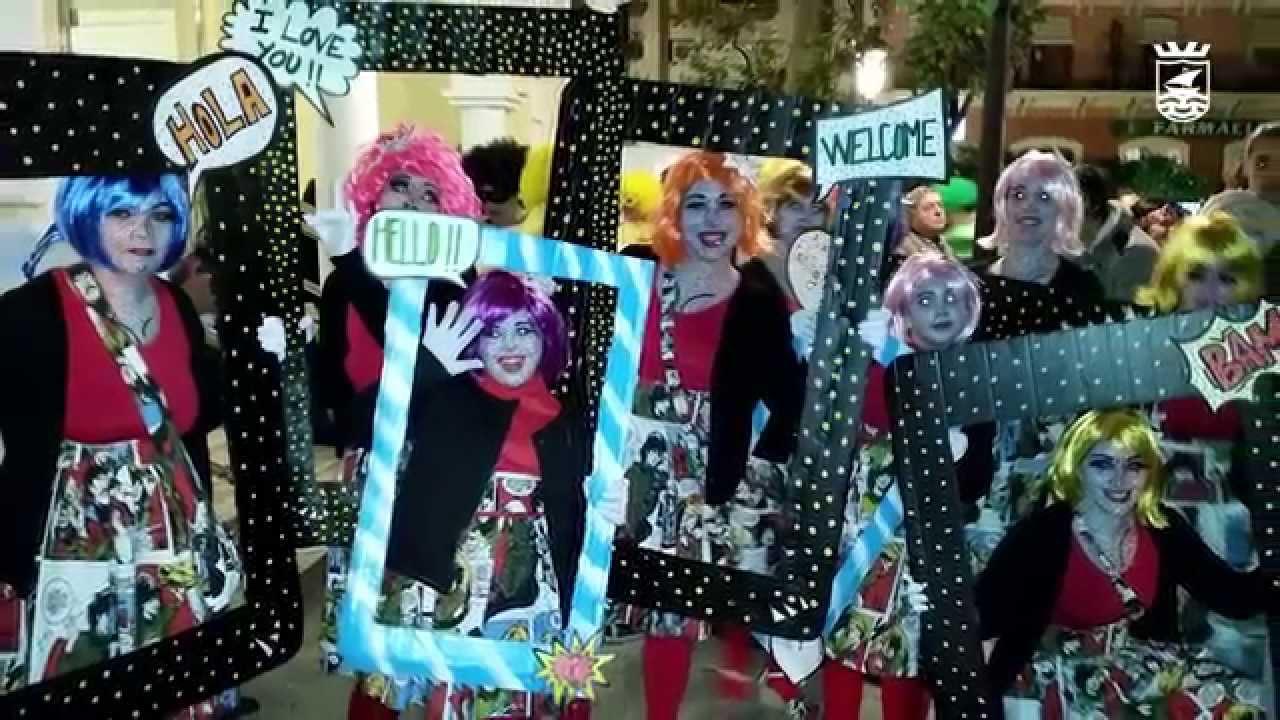 Concurso de disfraces de carnaval en almu car youtube - Disfraces carnaval original ...
