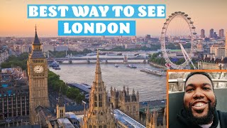 London HOP ON HOP OFF BUS | TOP 5 LONDON ATTRACTIONS FOR TOURISTS