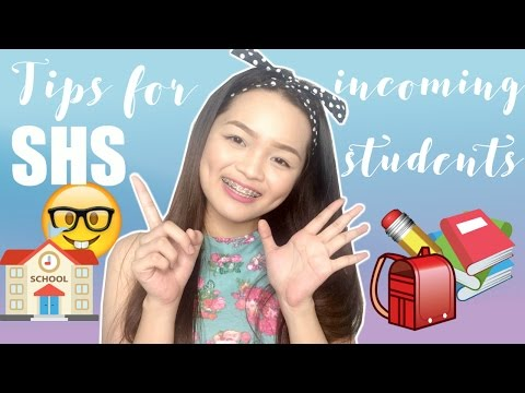 15 TIPS for Incoming Senior High School (SHS) Students | Monica Garcia ♡