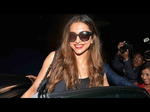 HOT Deepika Padukone Returns From Hollywood