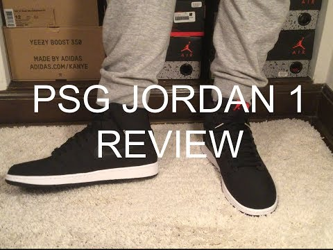 41b4ff87ee04 (WATCH BEFORE YOU BUY) PSG JORDAN 1 REVIEW  UNBOXING  ONFOOT