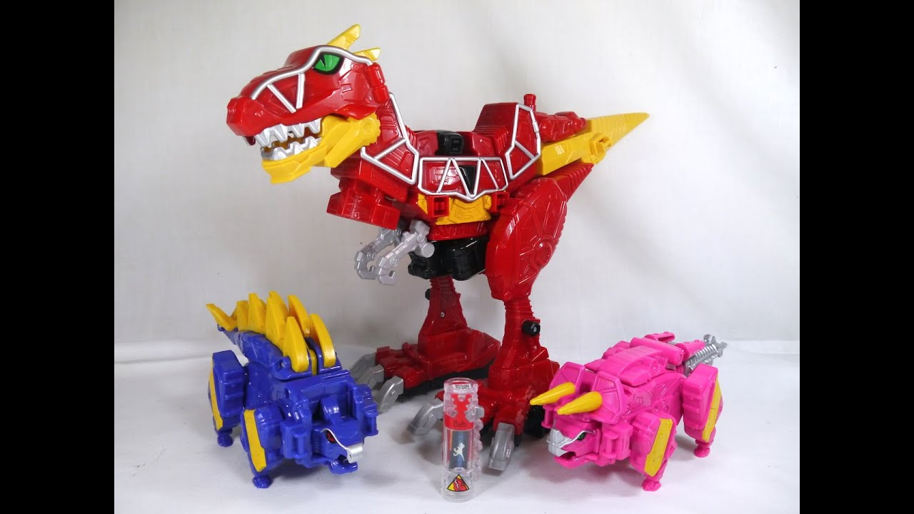 review dino charge megazord power rangers dino charge youtube. Black Bedroom Furniture Sets. Home Design Ideas